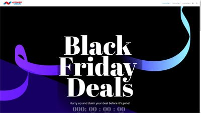 Black Friday Landing Pages